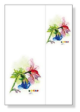 """Blumenbrief """"Blumen"""""""