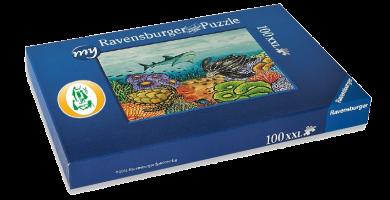 """Puzzle """"Meeresleben"""""""