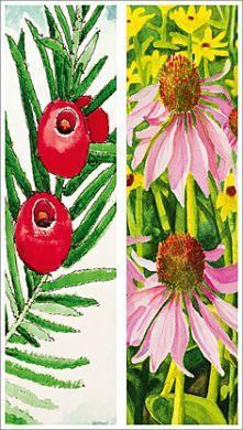 """Lesezeichen """"Blumen"""""""