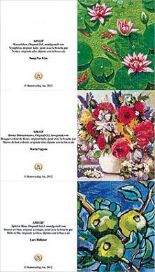 """Anhängerkarten """"Blumen"""""""