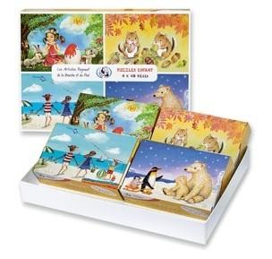Kinderpuzzle (4er Set)