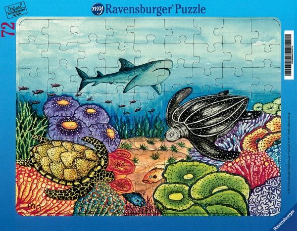 Puzzle «La vie marine»