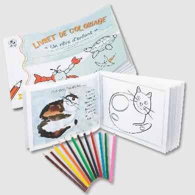Malbuch-Set für Kinder